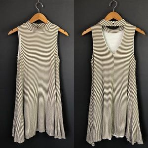 Altar'd State Striped Swing Dress